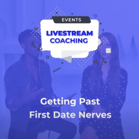 Getting past first date nerves