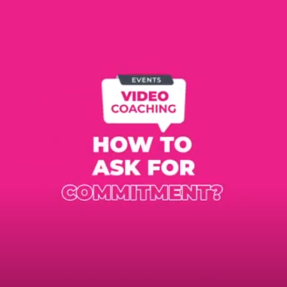 How to ask for commitment?